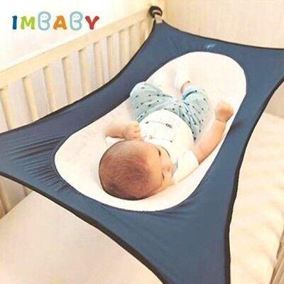 IMBABY Infant Baby Hammock For Newborn Kid Sleeping Bed Safe Detachable Baby Cot