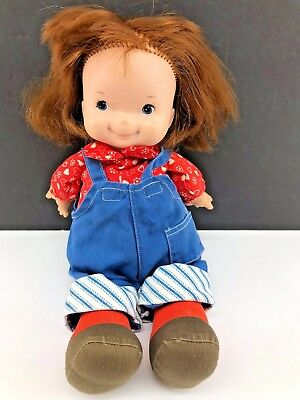 "Vintage Fisher Price Doll - 13"" 1973 Lapsitter Audrey Mandy Little Sister HTF"