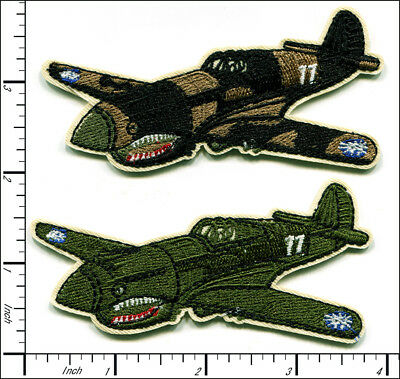 20 Pcs Embroidered Iron on patches World War 2 Air Combat Flighter AP027fD