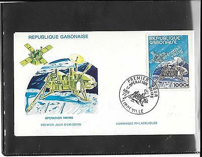 GABON 1977- Operation Viking FDC (ref E207)