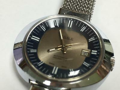 Ladies Vintage Stainless Steel Rone Automatic Wristwatch With Date