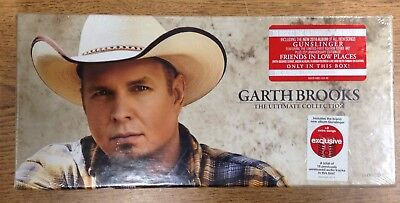 New Sealed Garth Brooks The Ultimate Collection 10 Disk Set 2016
