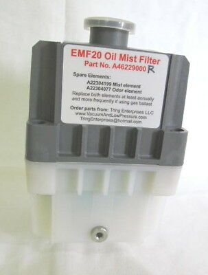 A462-29-000R EMF20R reconditioned Edwards oil mist filter