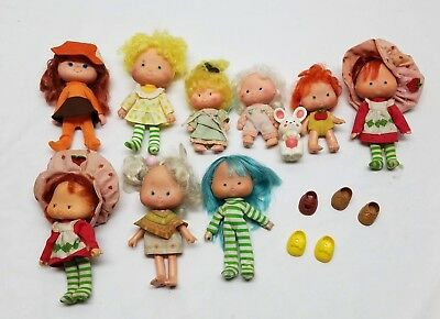 Vintage Strawberry Shortcake Doll Clothing Accessory Lot Kenner 1980s Shoes Pets