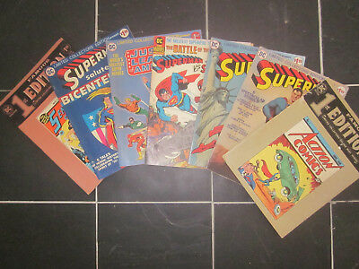 A Panoply of 7 DC Limited Collector's Edition Comics 1974-76