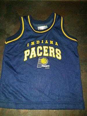 c5e2010e2 Indiana Pacers Mesh Toddler NBA Basketball Jersey Mighty Mac Sports 2T