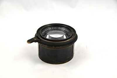 Carl Zeiss Jena 16.5cm f4.5 Tessar Barrel Lens #315466 with helicoid!