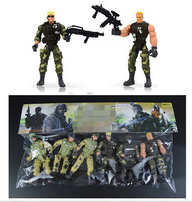 Joint Adjustable American Privates Toy Modern Soldiers Models Gift for Boys