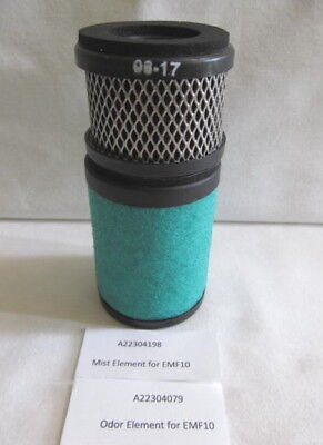A22304198 and A22304079 Set of elelments for EMF10 Edwards filter