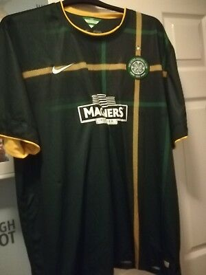Celtic Away Shirt 2014/15 3 XLarge Rare. New