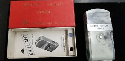 Vintage Japanese Romance Brilliant Slide Viewer W/Box and Instructions