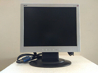 """Monitor LCD ACER AL1511 -15"""" Series"""