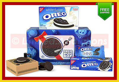 【 Nabisco 】Oreo Music Box - Cookie Record Player - Novelty Gift Tin - Ships Now!