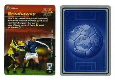 Wizards Of Coast Premier League 2001-02 Football Tactic Card Various (01 - 50)