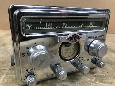 Gonset G-66 Mobile Receiver with manual