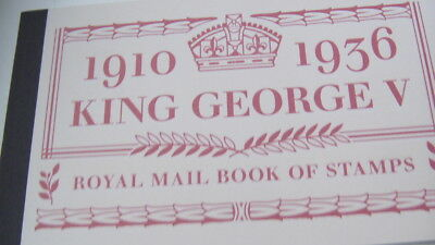 George V - 1910-1936 - Commemorative Royal Mail Book of Stamps - 2010