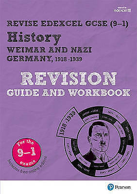 Revise Edexcel GCSE (9-1) History Weimar and Nazi Germany RevisionGuide/workbook