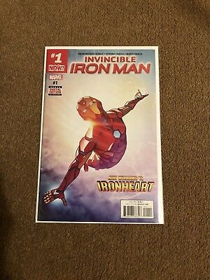 Invincible Iron Man 1 /1st Iron Heart Own Series