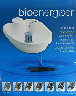 BIOenergiser Classic Detox Foot Spa System + Complete Refill Kit ~ New in Box