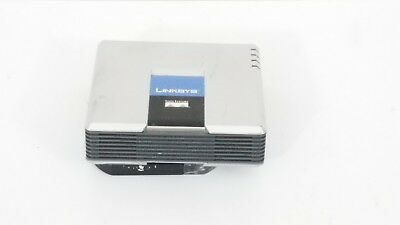 LOT OF 2 Cisco Linksys Phone Adapter With Router Model SPA2102