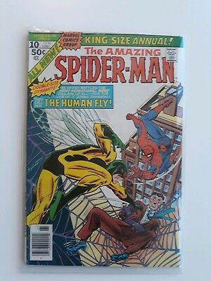 "Amazing Spider-Man King-Size Annual #10_1976_Very Fine_""the Human Fly""! Stan Lee"