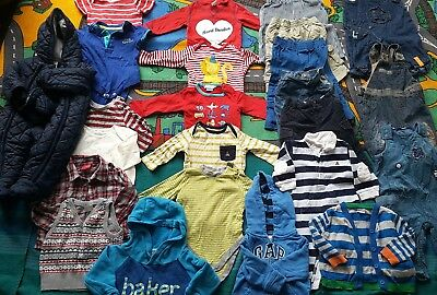 Baby Boy Winter Clothes Bundle / 3-6 Months / TED Baker , Gap , Junior J / 24...