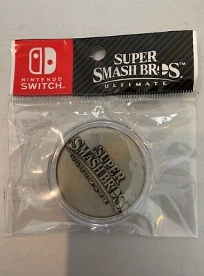 Super Smash Bros Ultimate - Limited Edition Collectors Coin - Nintendo Switch