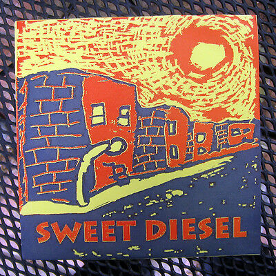 "Sweet Diesel ""Alone/Suffer/Poor Old Man"" Shifty 1 (1994) 7"" Ep Ex Con Indie Punk"