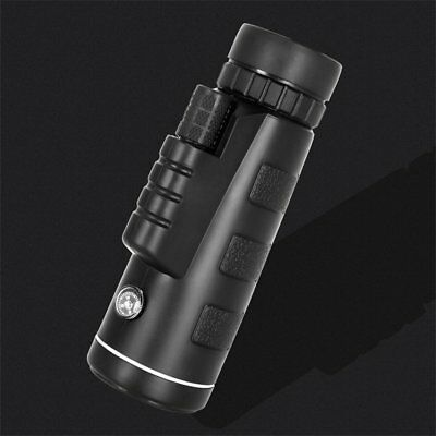 40X60 Monocular Telescope HD Night Vision Scope With Compass Phone Clip Tripod N