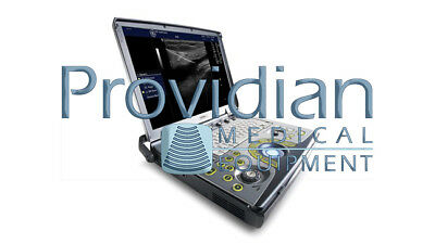 GE Logiq e BT12 Portable Ultrasound System with 3S-RS & 8L-RS Cardiac/Vascular T