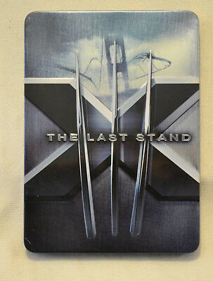 X-Men 3 The Last Stand DVD Steelbook 2 Disc Special Edition