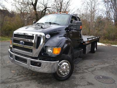 2011 FORD F650 Rollback / tow truck  101,900 Miles black   Automatic ROLLBACK