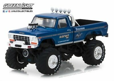 Bigfoot #1 The Original Monster Truck by Greenlight Diecast Model in 1:43 Scale