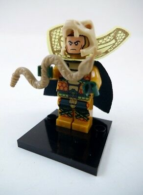NEW GI Joe Cobra Emperor Serpentor Lego Block Compatible Mini Figure In USA