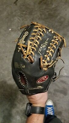Rawlings Heart of the Hide Dual Core PRO601DCC 12.75 Outfield Glove Used