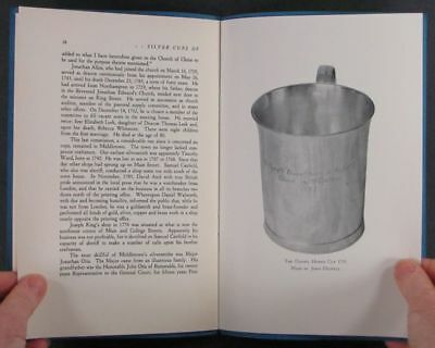 Antique Colonial Coin Silver Cups of Middletown Connecticut -1937 Booklet
