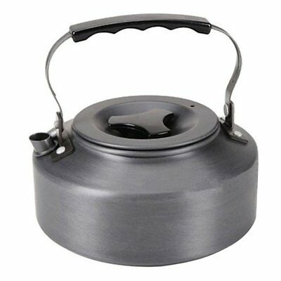 1.1L Kettle Picnic Camping Cookware Teapot Water Coffee Pot Aluminum Outdoor ND