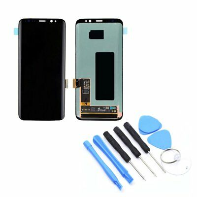 Display Screen Digitizer Repalcement w/ Frame For Samsung S6/S7/Note 8/S8 Plus N