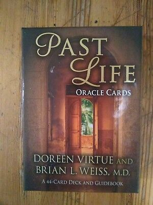 PAST LIFE ORACLE CARDS DOREEN VIRTUE AND BRIAN L. WEISS. Extremely rare.