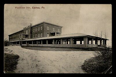 Dr Who 1909 Easton Pa Paxinose Inn Postcard C57419