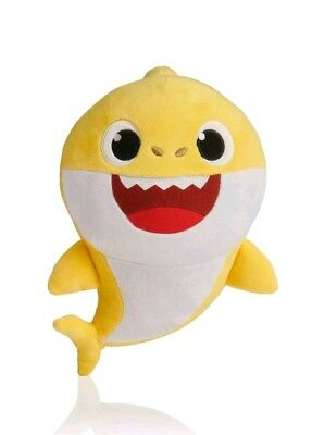 PINKFONG Baby Shark Yellow Official ENGLISH Singing Plush- New In Package!
