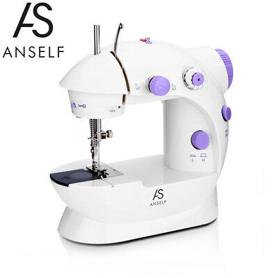 Mini Household Purple Electric Sewing Machine 2 Speed Adjustment AC100-240V Z3R2