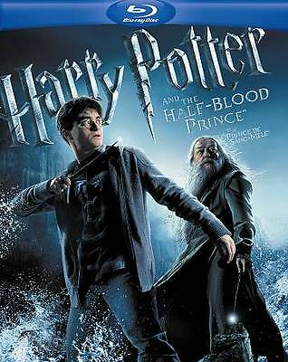 Harry Potter and the Half-Blood Prince (Blu-Ray/DVD 2-Disc Set) FREE SHIPPING