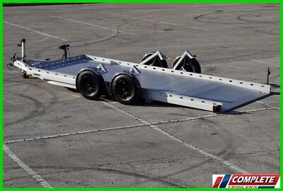 MUST SEE Futura Tandem Low Load Car Hauler Trailer: Recovery Winch, Spare Tire