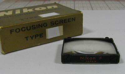 NIKON F Interchangeable Focusing Screen Type A Split Image for F and F2