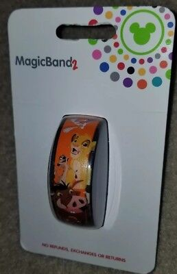 NEW Disney Parks Simba Lion King Hakuna Matata Animal Kingdom Magic Band 2