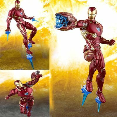 Deluxe S.H.Figuarts SHF Marvel Avengers Infinity War Iron Man Mk50 Action Figure