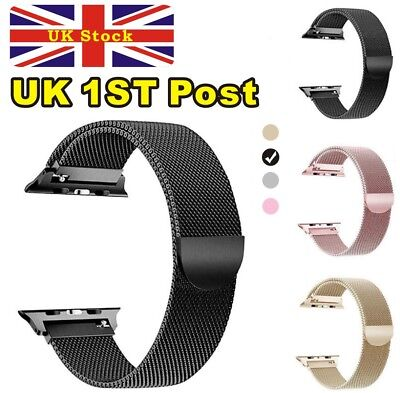 Milanese Magnetic Loop Stainless Steel Strap iWatch Band For Apple Watch 42/38mm