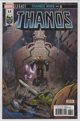 Marvel Donny Cates THANOS #13 2018 First Printing 1st Cosmic Ghost Rider NM+ Key