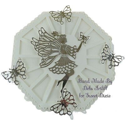 Butterfly Angel Frame Metal Cutting Dies Embossing Stencil for Paper Craft SP